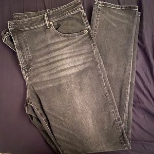 American Eagle Stacked Black Jeans 48x32